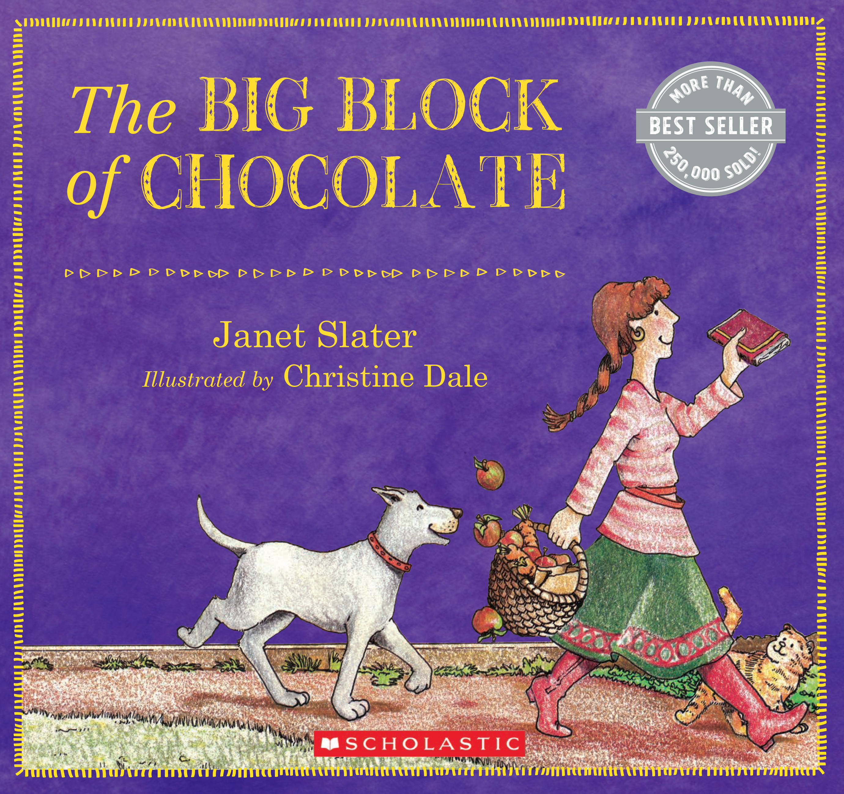 The big block of chocolate by Janet Slater  Delightful